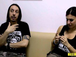 Lacuna Coil – Interview @ Rock The City 06.30.2012/ Bucharest, Romania