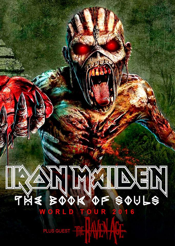 Afis Iron Maiden-2016