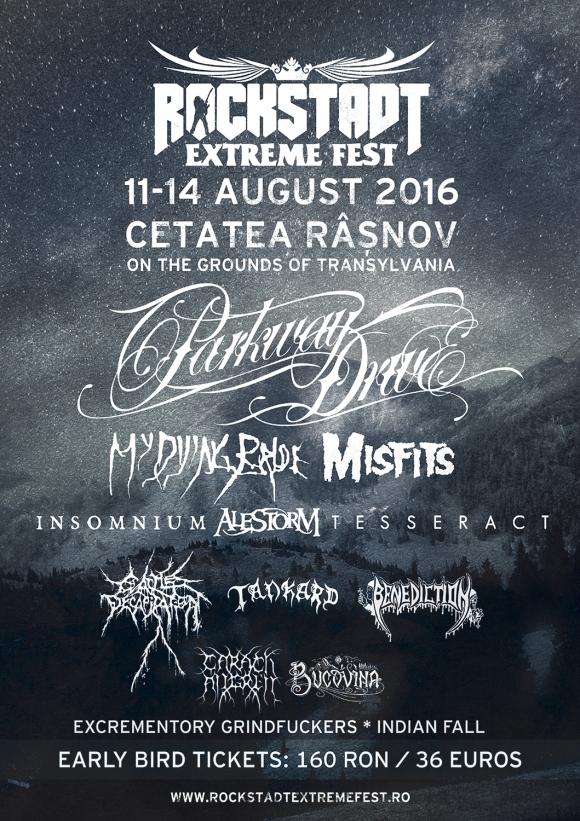 Afis Rockstadt Extrem Fest 2016