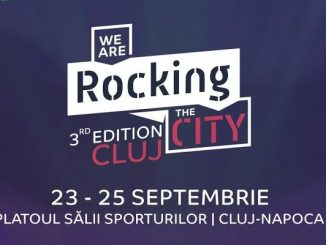 we are rocking the city cluj afis