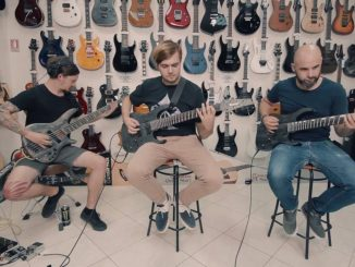 "Diamonds Are Forever:  guitar playthrough pentru piesa ""My Fragile Heart Will Feed The Darkness"""