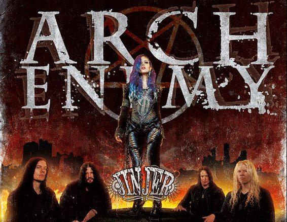 Afis Arch Enemy_Jinjer