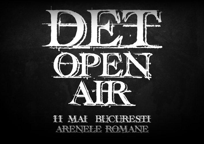 Afiș DET Open Air 2018