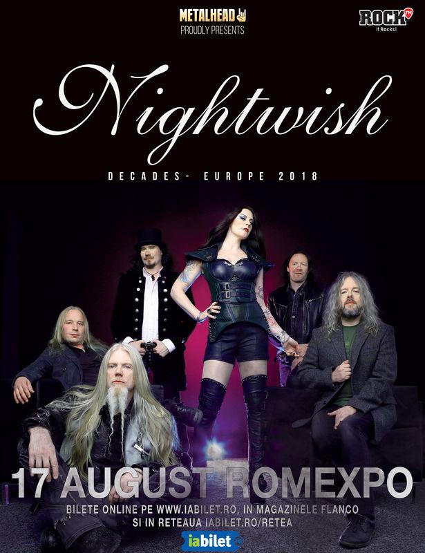 Afis Nightwish Bucuresti