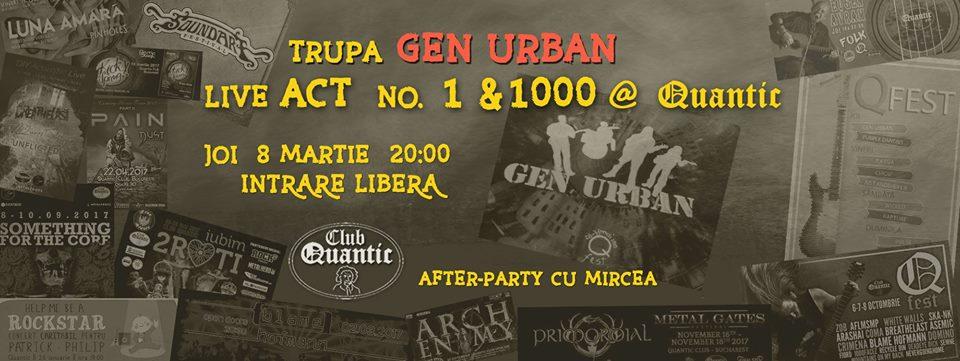 Gen Urban concert