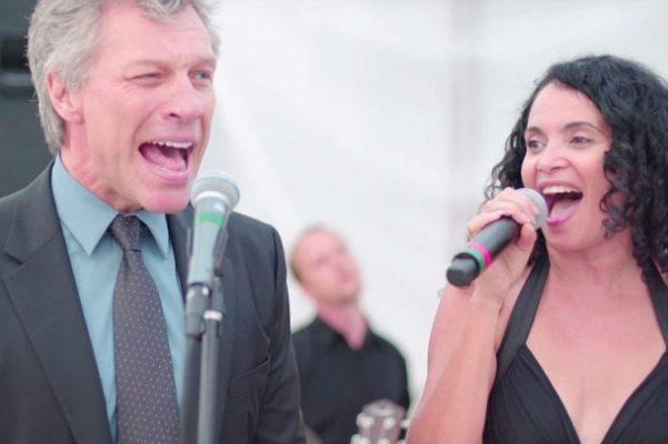 Jon Bon Jovi & Lourdes Valentin