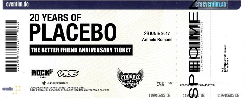 Bilet Placebo