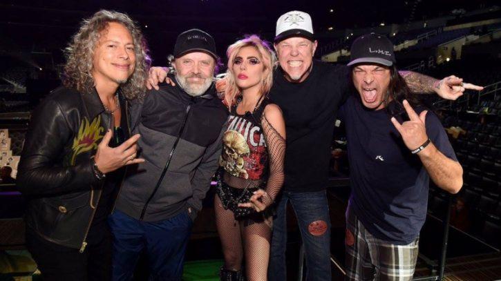 Metallica si Lady Gaga