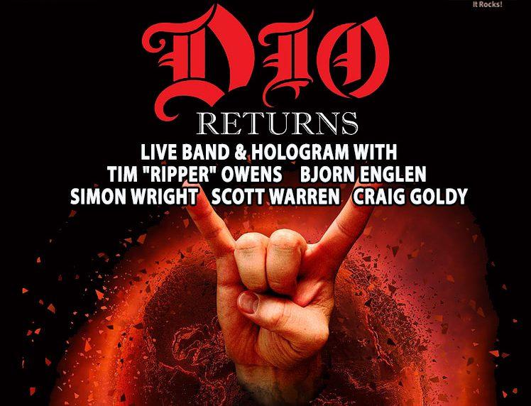 Afis concert DIO