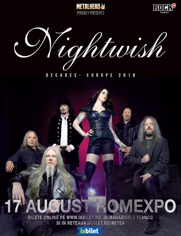 Afis Nightwish Bucuresti