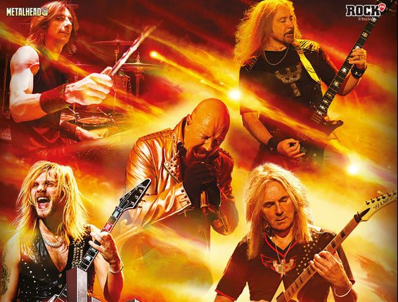 Afis Judas Priest and guests