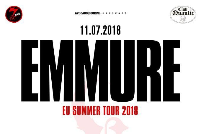 Afis concert Emmure