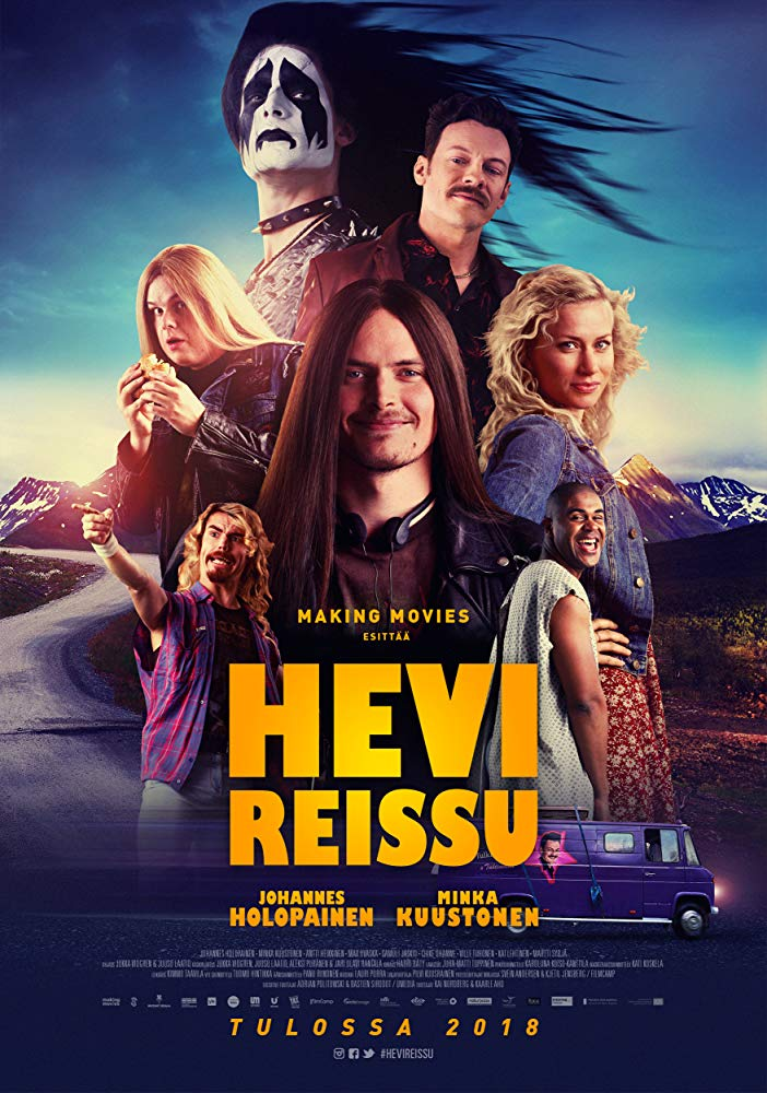 Heavy Trip heavy metal comedy official poster