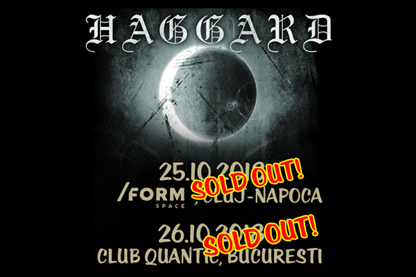 Haggard Sold Out 2018