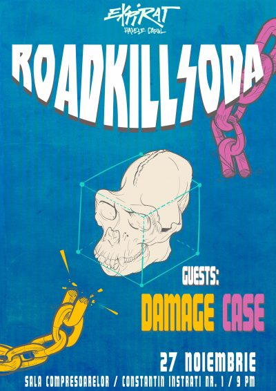 RKS Damage Case Expirat Gig Poster