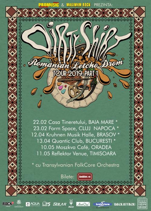 Dirty Shirt tour 2019