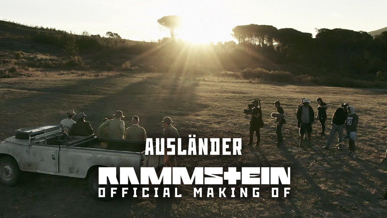 """Rammstein: vezi cum a fost făcut videoclipul pentru """"Ausländer"""""""